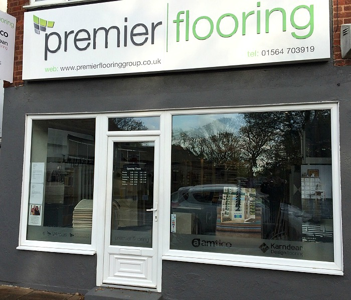 premier flooring solihull showroom