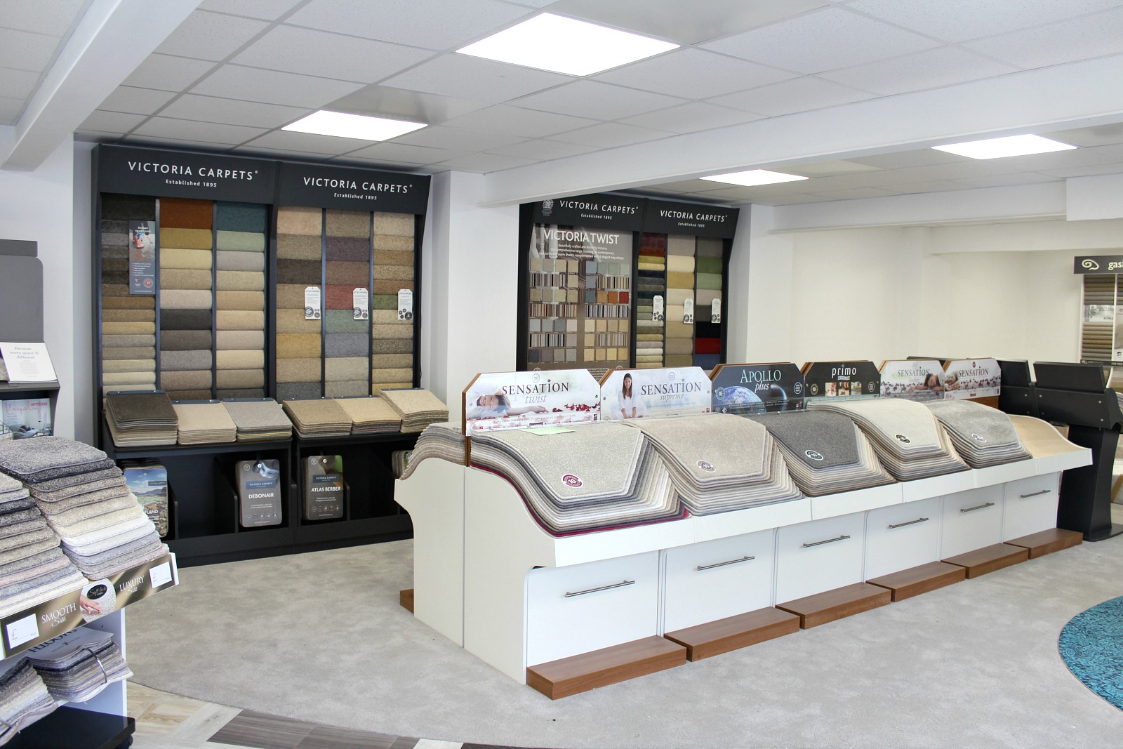 carpet and roll stock at premier flooring
