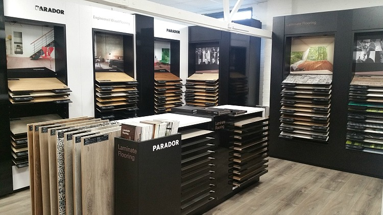 Parador engineered wood flooring at Premier Flooring
