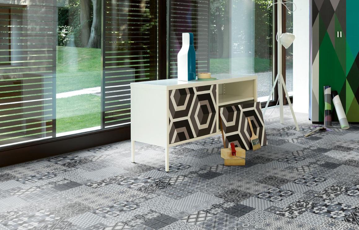 Scandi inspired laminate flooring