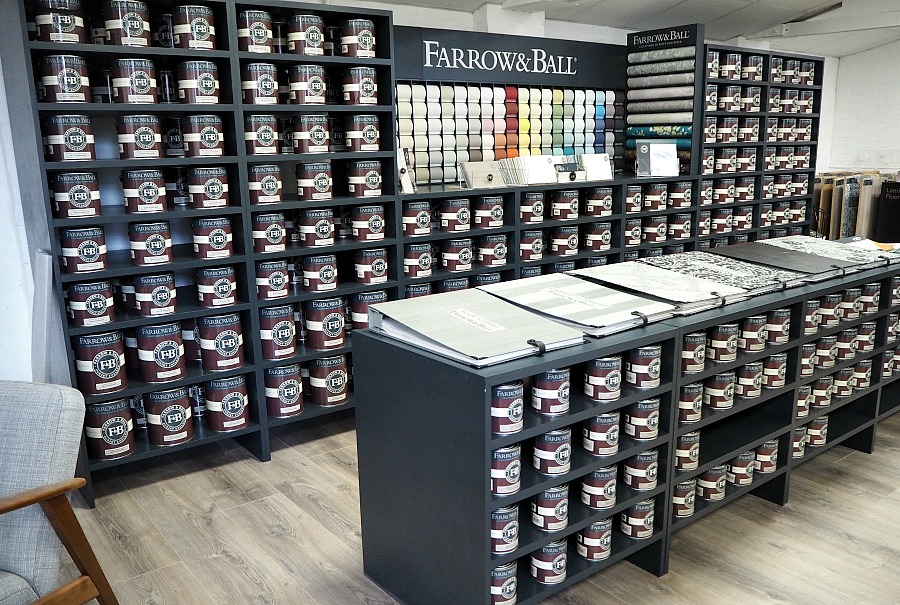 Farrow & Ball stockist worcester