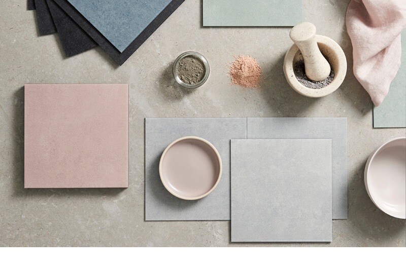 Amtico Colour edit, diffusion palette